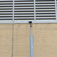 photo of a CCTV security camera