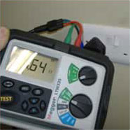 photo of an electrical testing device
