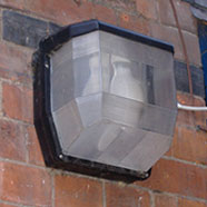 photo of a security light